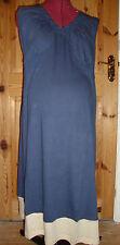 BNWT Ladies MATERNITY Blue/Cream Nightdress Size L - 14-16