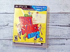 Sony Playstation 3 Game - Just Dance Kids 2 MOVE FREE SHIPPING Complete CIB PS3
