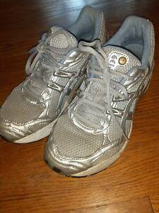 Womens Asics Gel Shoes 8 1/2 1110 Duomax TN661 Spiva