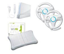 Nintendo WII super accessoriata: BALANCE+2VOLANTI+2JOISTICK+GIOCHI