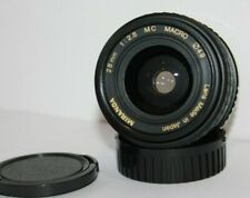 Miranda 28mm f2.8 Wide Angle Macro Lens Pentax PK A Mount.K1000. ME MX KM etc