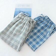Männer Pyjama Hosen Herren Haus Indoor Joggen Freizeit Schlafhose Nachtwäsche
