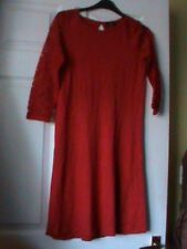 Ladies red dress size 8 by F & F