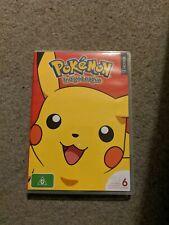Pokemon Season 1 Complete: Indigo League (6DVD) Slimline (REGION 4) - DVD