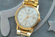 Vintage Soviet Watch POLJOT, 1mchz factory 1 KL, gold plated AU20