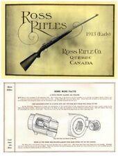 Ross 1913 Rifles (early) Gun Catalog