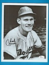 CHUCK CONNORS Autograph JSA CERT Auto Signed 8 x 10 photograph Dodgers RIFLEMAN