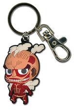 Attack on Titan Colossal Titan SD Key Chain Anime Manga Licensed MINT