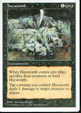MAGIC THE GATHERING 5TH EDITION BLACK HECATOMB