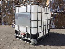 Regenwassertank Lebensmittel IBC Container Behälter 1000 l fast NEU ! Regentonne
