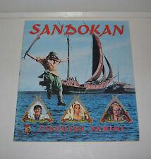 ALBUM VIDE PANINI SANDOKAN,TBE 1976,EMPTY,LEER,VUOTO,LEEG,VACIO,SERIE TV VINTAGE