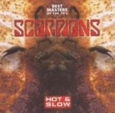 Scorpions Hot & Slow Best Masters of The 70s CD European Camden 2009 17 Track