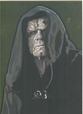 Star Wars Galaxy 5 Gold Foil Chase Card #11 Emperor Palpatine