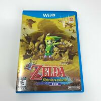 Legend of Zelda: The Wind Waker HD Nintendo Selects (Wii U, 2016) Tested Working