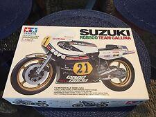 Tamiya Suzuki RGB500 Team Gallina 1:12 Scale Plastic Model Kit 1409 Open Box