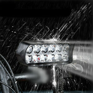 "1x Universal 4.8"" 12 LED ATV Motorcycle Spot Head Fog Light Bar 12V 18W Lamp L22"