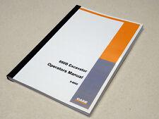 Case 880B Excavator Operators Manual Owners Maintenance Book NEW