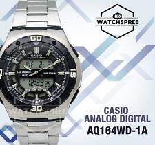 Casio Analog Digital Dual Time Watch AQ164WD-1A