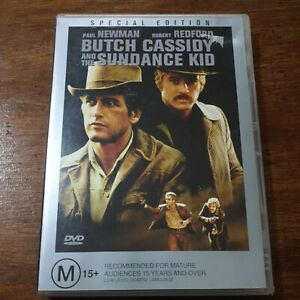 Butch Cassidy and the Sundance Kid DVD R4 Like New! FREE POST
