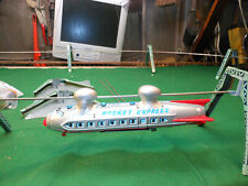 Line Mar Rocket Express Monorail Ship Marx Tested tin toy