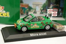 Norev 1/43 - Nissan Micra CC Ancel Tour de France 2012