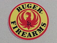 "Ruger Logo Decal, Vinyl, Official 3-3/4"" High Quality Dealer Sticker"