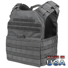 CONDOR MOLLE US1020 Cyclone Lightweight Plate Carrier Chest Rig Vest BLACK