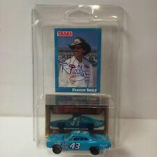 Richard Petty Autograph 1969 Plymouth 1/64 Diecast #43 Traks Card Nascar STP