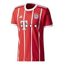 Camisetas de fútbol de clubes internacionales de manga corta en rojo talla L