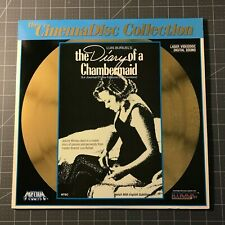 THE DIARY OF A CHAMBERMAID LASERDISC - LD