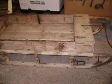 Swedish Army Wood Supply Sled