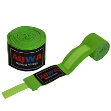 AQWA Hand Wraps Bandage Fist Boxing Inner Gloves 4.5m Cotton MMA Muay Thai Green