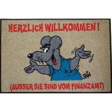 Fußabstreifer Waschbare Fußmatte ©Uli Stein - Maus Finanzamt - 50x75cm wash+dry