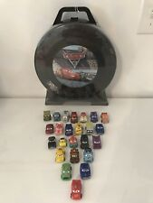 Disney Cars 3 Mini Racers Lot of 24 New Sealed 1~24 Set w/ Carrying Case