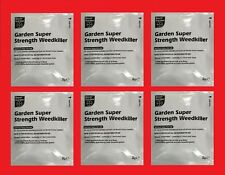 Bayer Garden Super Strength Glyphosate Weedkiller 6 X 8g Sachets Weed Killer