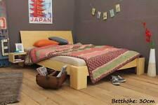 SUVA Bambusbett mit Rückenlehne 200x200cm, 30cm oder 40cm Bett Höhe, NEU!