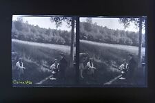 Dohan Belgium Photo Stereo Negative on Film Soft 1914