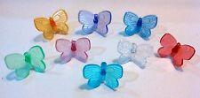 64  Medium Butterflies  Bulbs Ceramic Christmas Tree Lights Replace.  8 Colors