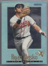 1997 SkyBox E-X 2000 Credentials #55, Ryan Klesko, Atlanta Braves.  SN 279/299