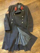 Vintage Soviet Star Russian Ussr Red Army Wool Uniform Coat Jacket Military