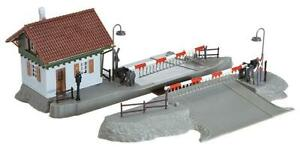 Faller H0 120174 Kit Railroad Crossing With Crossing Keeper's House