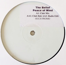 """THE BELIEF - Peace Of Mind (12"""") (Promo) (VG-/NM)"""