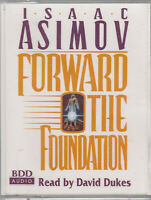 Isaac Asimov Forward The Foundation 4 Cassette Audio Book 2 Science Fiction