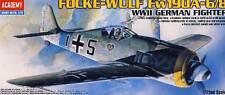 Academy Focke-Wulf FW-190A-6/8 190A-8 modelo equipo de construcción 1:72 190 A