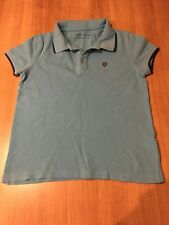 Boys Limon Company Polo Neck T-Shirt Turquoise Blue Size 12