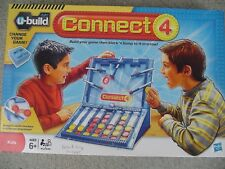 U-Build Connect 4 Game 2010 Hasbro 100% Complete
