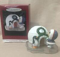 Frosty Friends 20th Anniversary Edition 1993 Hallmark Keepsake Ornament NIB