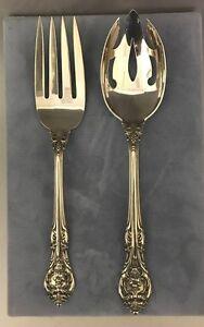 """King Edward by Gorham Sterling Silver Ice Cream Fork Original Vermeil 5 3//4/"""""""