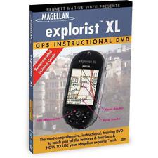 MAGELLAN EXPLORIST XL INSTRUCTIONAL DVD BENNETT MEDIA