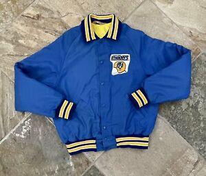 Vintage Oakland Invaders USFL Don Alleson Football Jacket, Size Medium